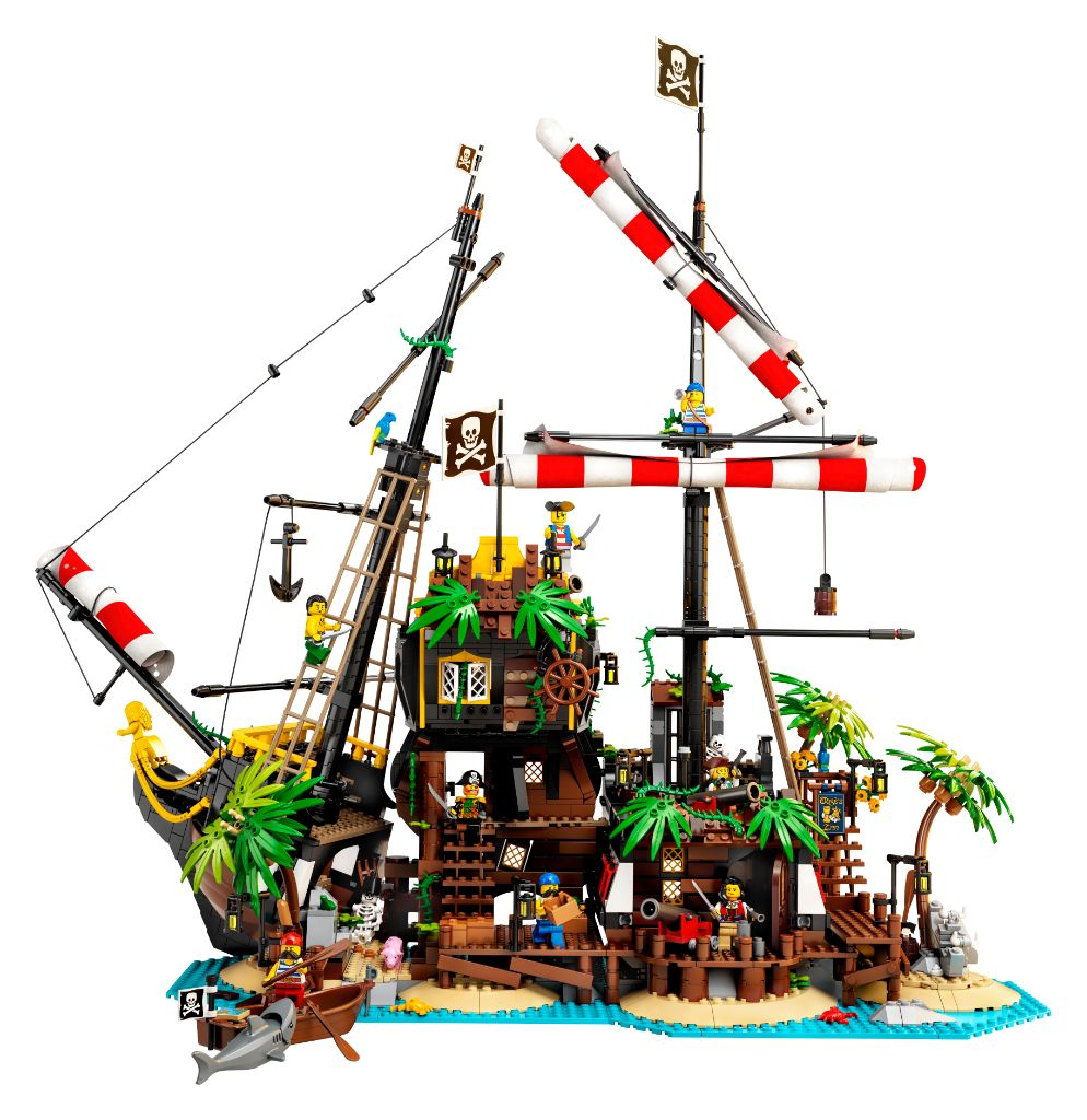 LEGO Ideas 21322 Pirates Of Barracuda Bay 17