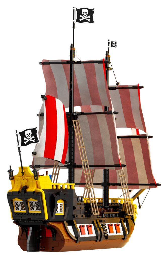 LEGO Ideas 21322 Pirates Of Barracuda Bay 18