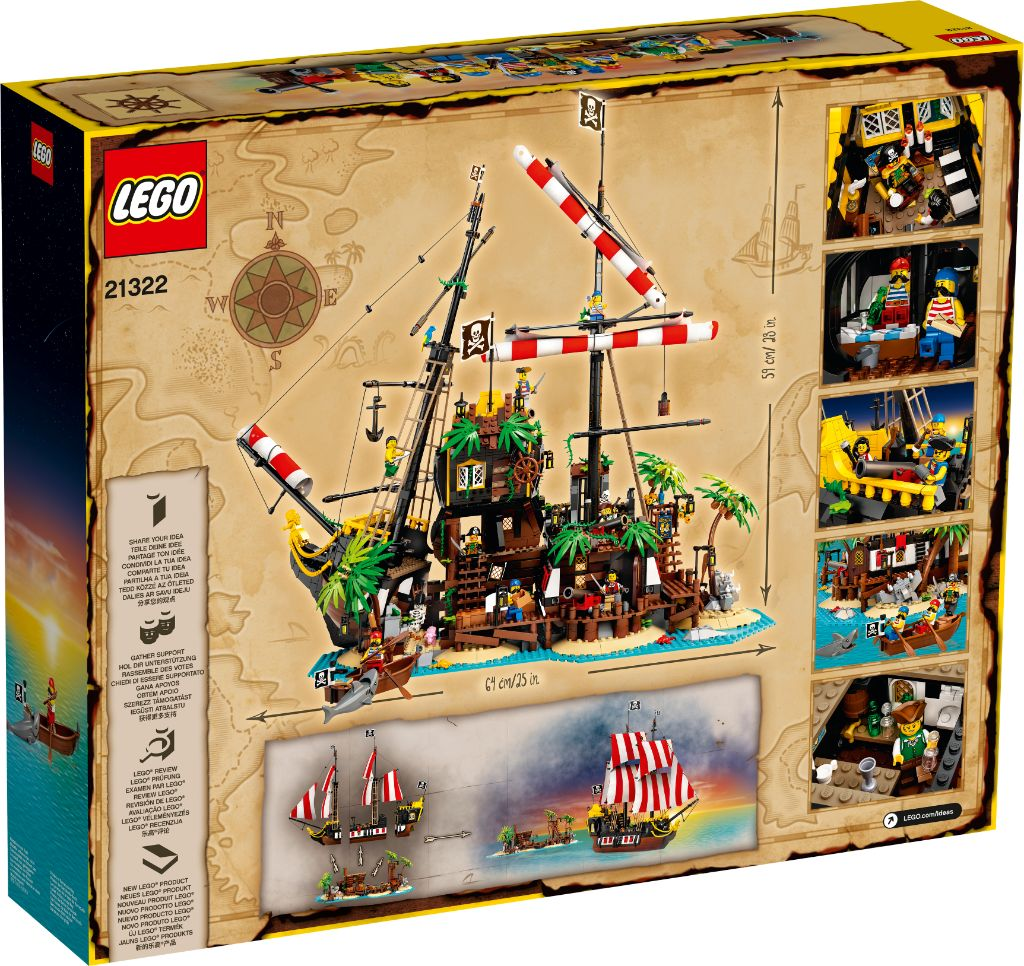 LEGO Ideas 21322 Pirates Of Barracuda Bay 27