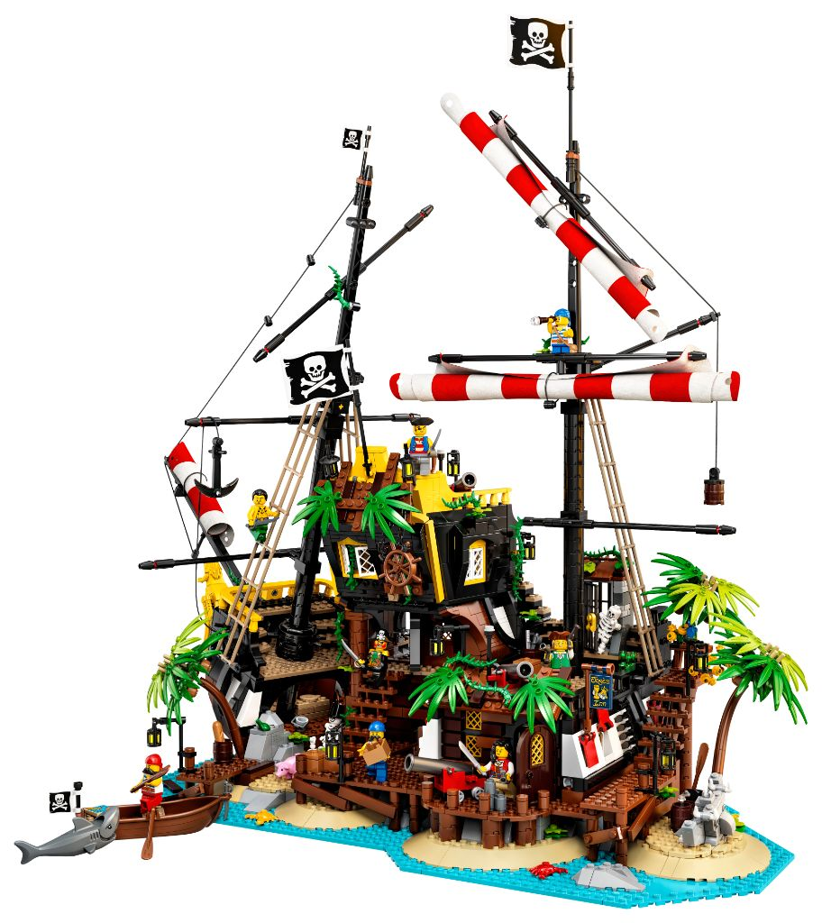 LEGO Ideas 21322 Pirates Of Barracuda Bay 31