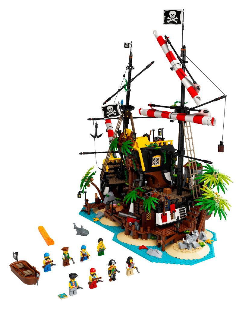 LEGO Ideas 21322 Pirates Of Barracuda Bay 59