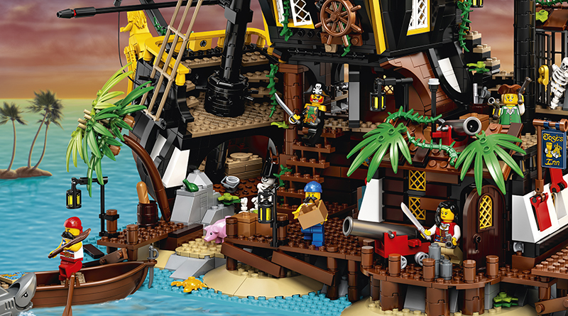 LEGO Ideas 21322 Pirates of Barracuda Bay