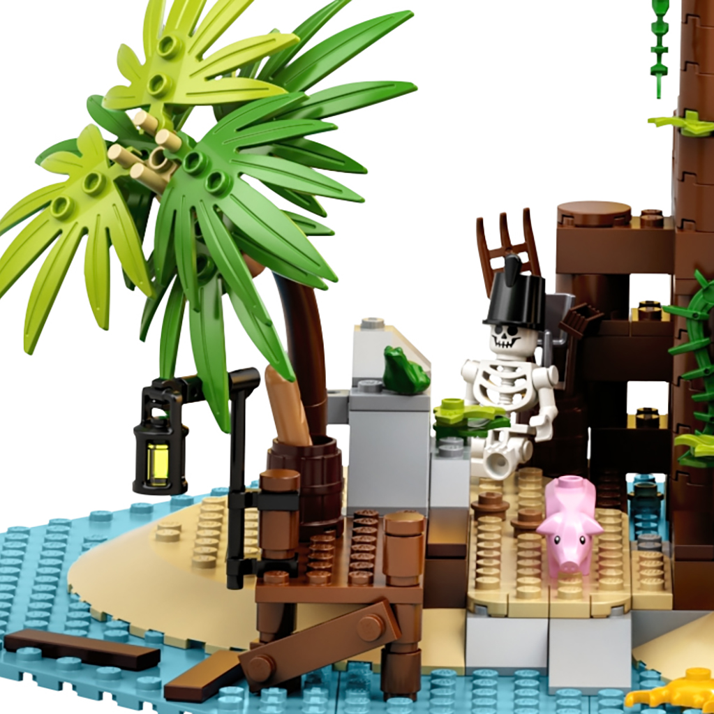 LEGO Ideas 21322 Pirates Of Barracuda Bay Ref 1