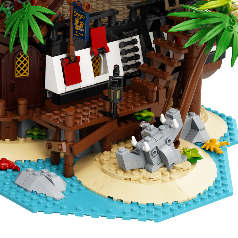 LEGO Ideas 21322 Pirates Of Barracuda Bay Ref 2