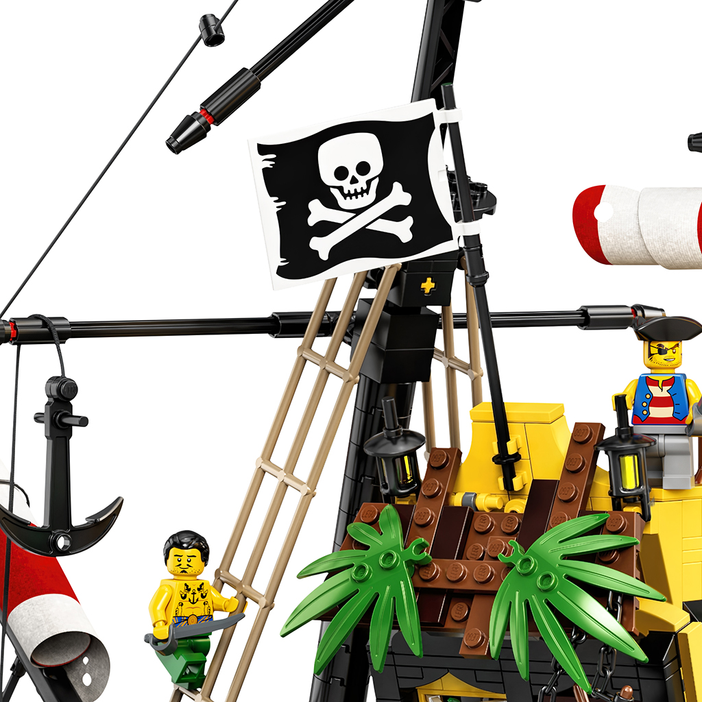 LEGO Ideas 21322 Pirates Of Barracuda Bay Ref 3