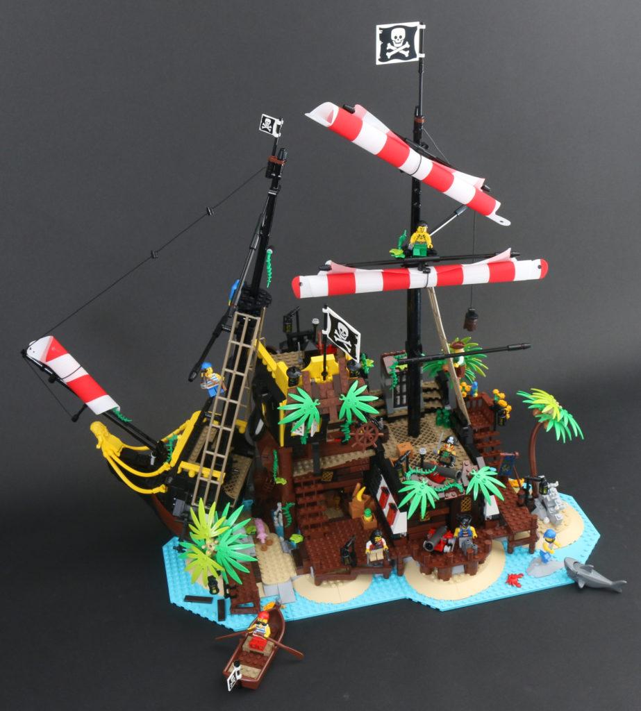 LEGO Ideas 21322 Pirates Of Barracuda Bay Review 1iv