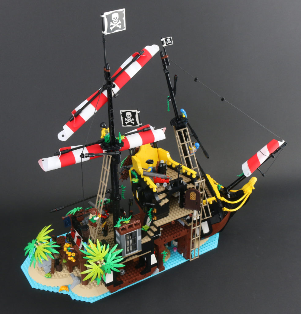 LEGO Ideas 21322 Pirates Of Barracuda Bay Review 1x