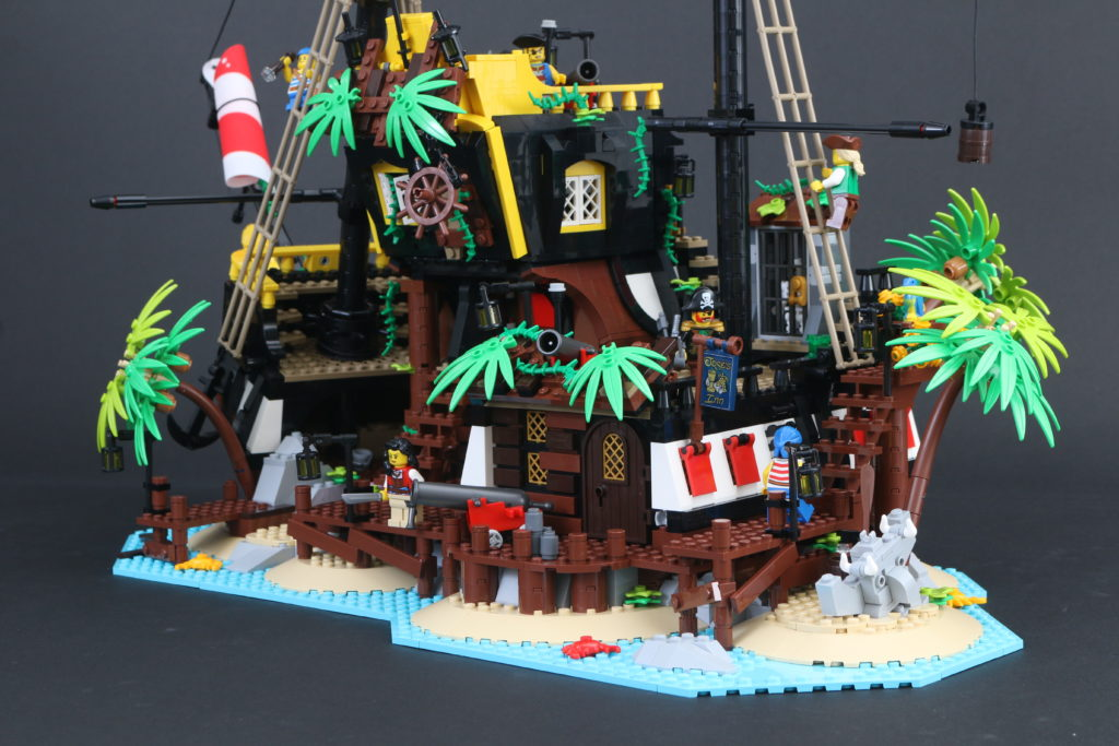 LEGO Ideas 21322 Pirates Of Barracuda Bay Review 21