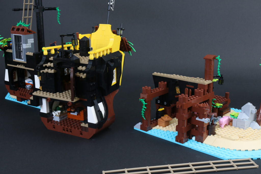 LEGO Ideas 21322 Pirates Of Barracuda Bay Review 55