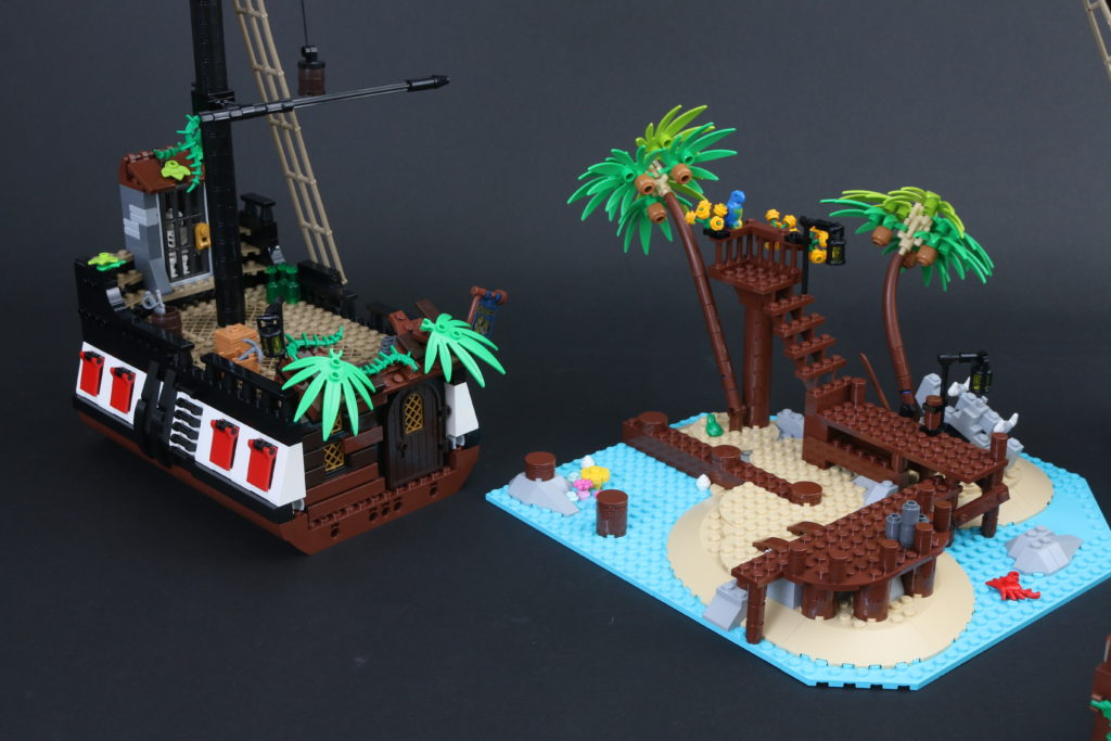 LEGO Ideas 21322 Pirates Of Barracuda Bay Review 56