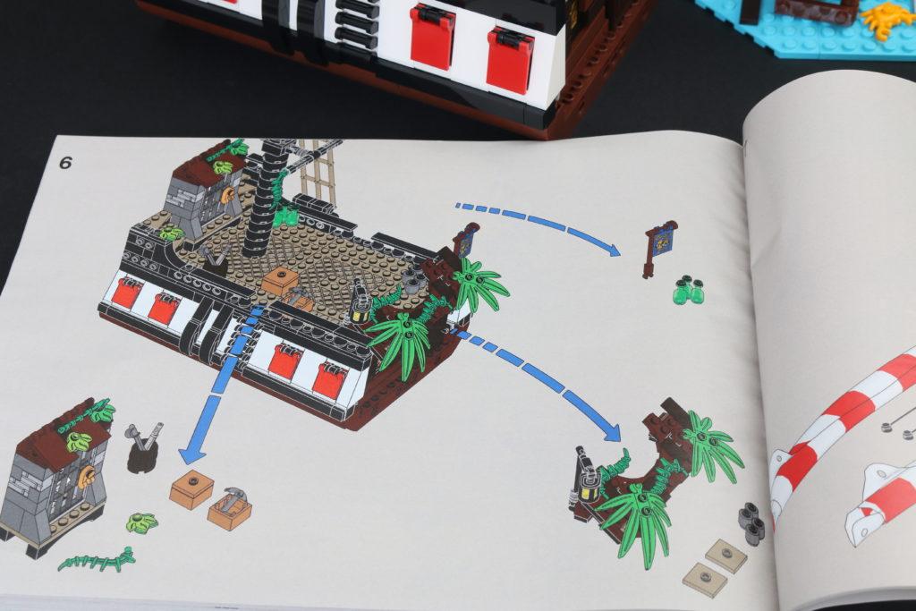 LEGO Ideas 21322 Pirates of Barracuda Bay review 58