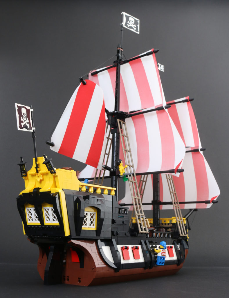 LEGO Ideas 21322 Pirates Of Barracuda Bay Review 67