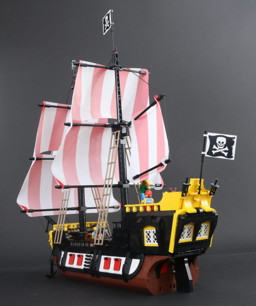 LEGO Ideas 21322 Pirates Of Barracuda Bay Review 68