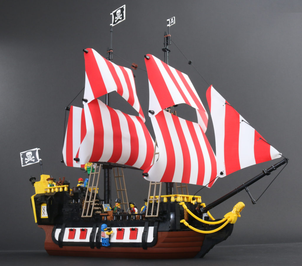 LEGO Ideas 21322 Pirates Of Barracuda Bay Review 76