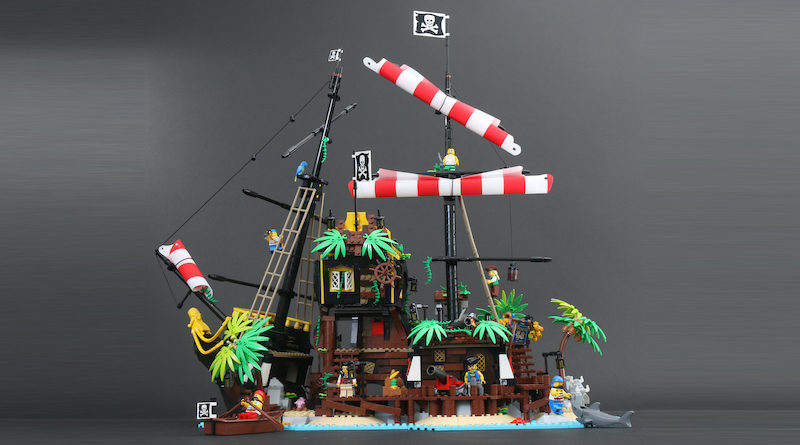 LEGO Ideas 21322 Pirates of Barracuda Bay review title 1