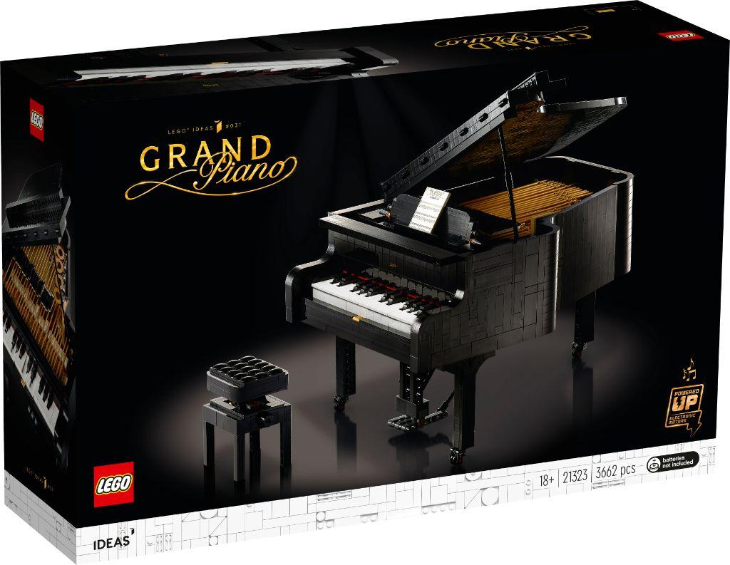 LEGO Ideas 21323 Grand Piano 1