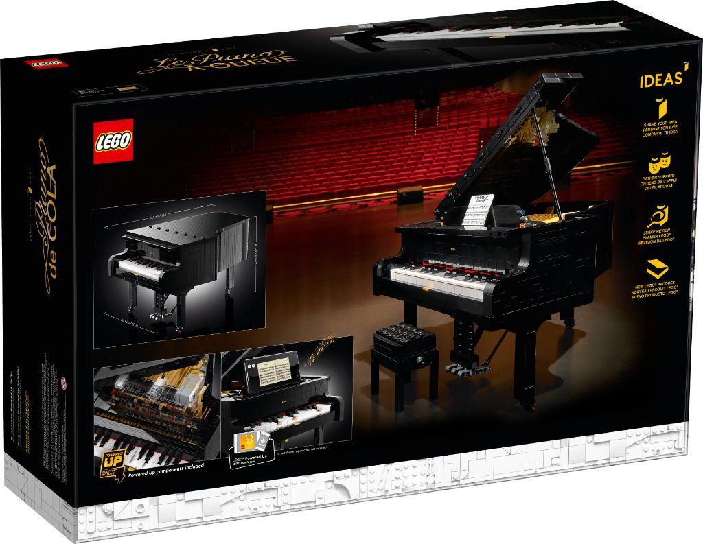 LEGO Ideas 21323 Grand Piano 10