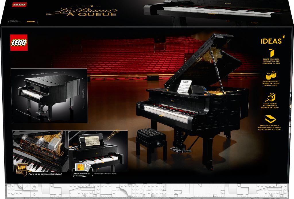 LEGO Ideas 21323 Grand Piano 12