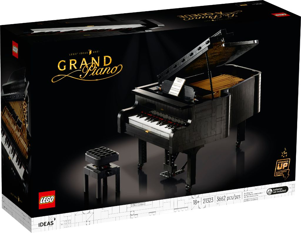LEGO Ideas 21323 Grand Piano 2