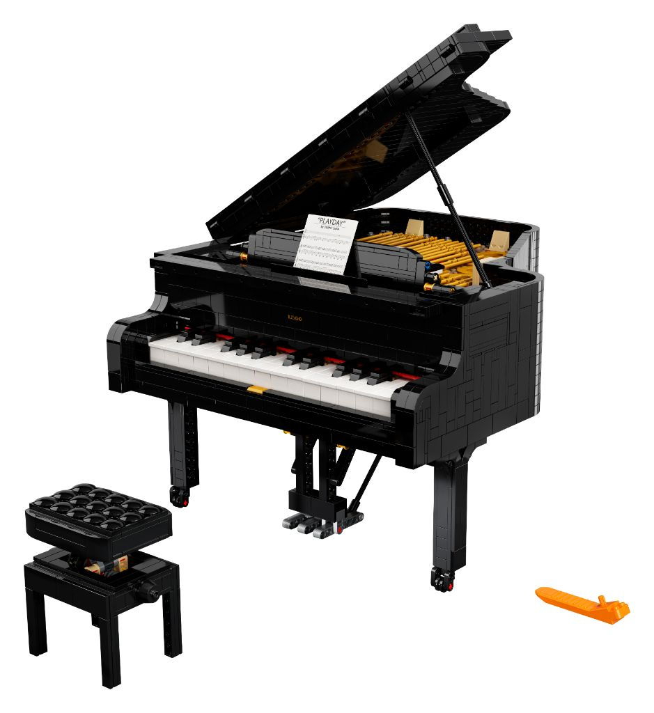 LEGO Ideas 21323 Grand Piano 28
