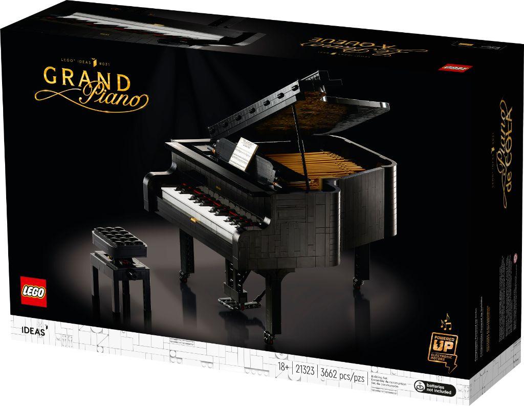 LEGO Ideas 21323 Grand Piano 4