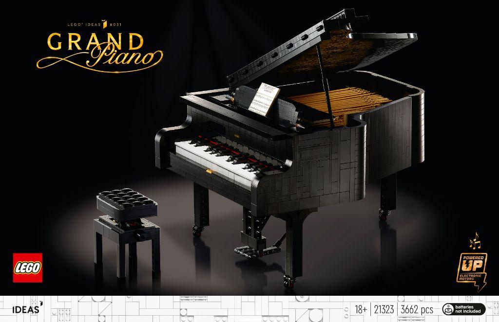 LEGO Ideas 21323 Grand Piano 5