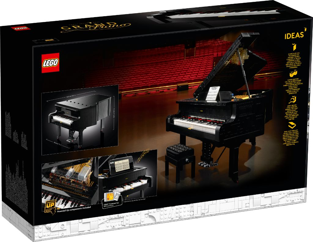 LEGO Ideas 21323 Grand Piano 9