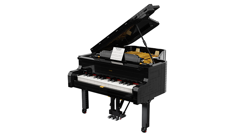 LEGO Ideas 21323 Grand Piano Featured 2