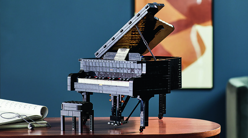 LEGO Ideas 21323 Grand Piano Featured 3 800x445