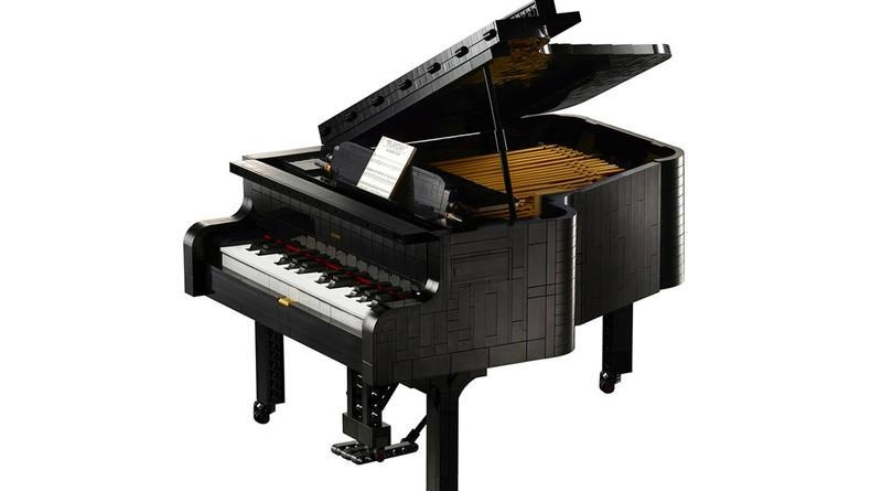 LEGO Ideas 21323 Grand Piano is not playable