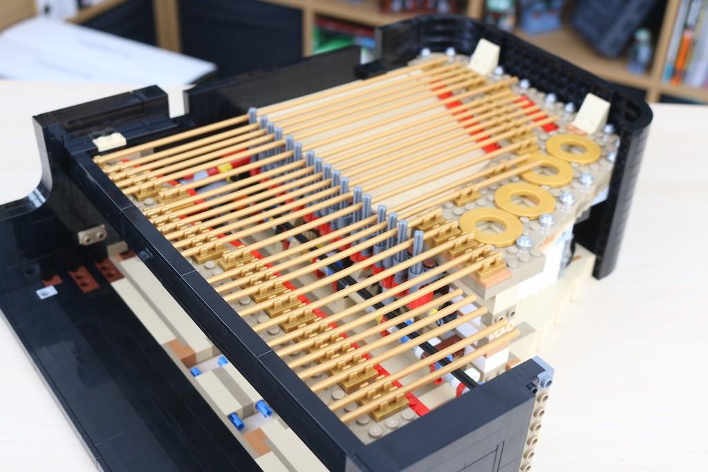 LEGO Ideas 21323 Grand Piano Review 11