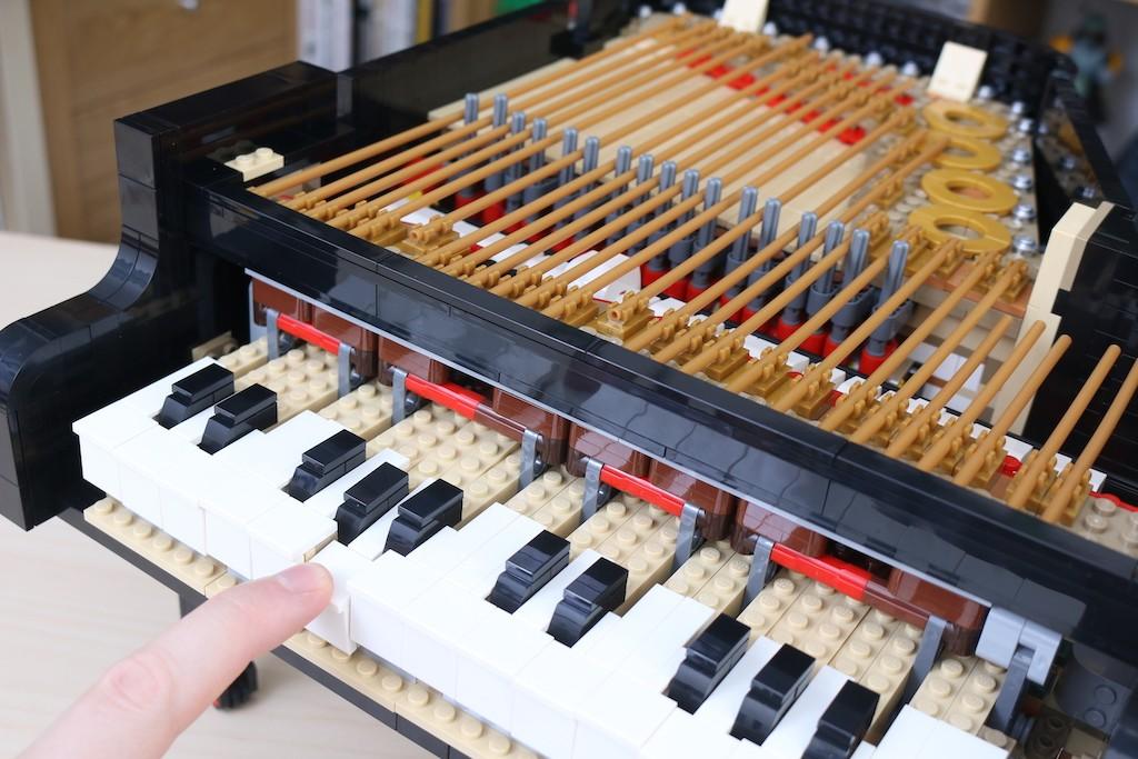 LEGO Ideas 21323 Grand Piano Review 24