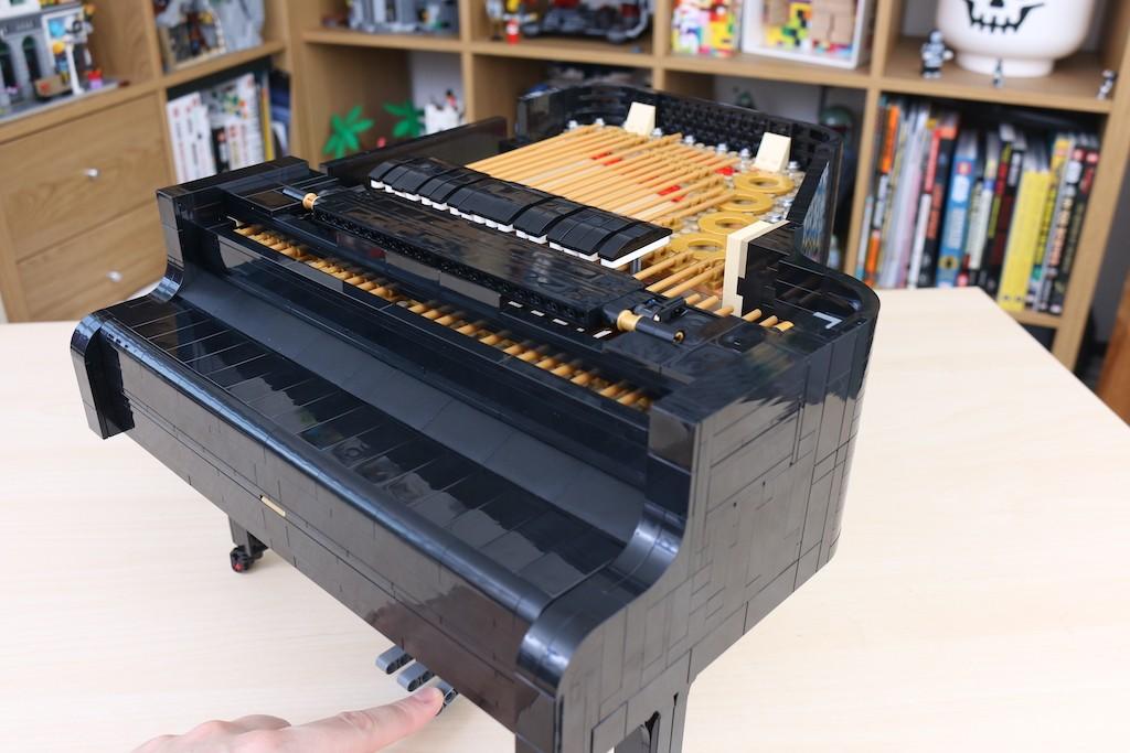 LEGO Ideas 21323 Grand Piano Review 26