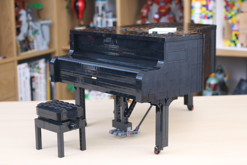 LEGO Ideas 21323 Grand Piano Review 30