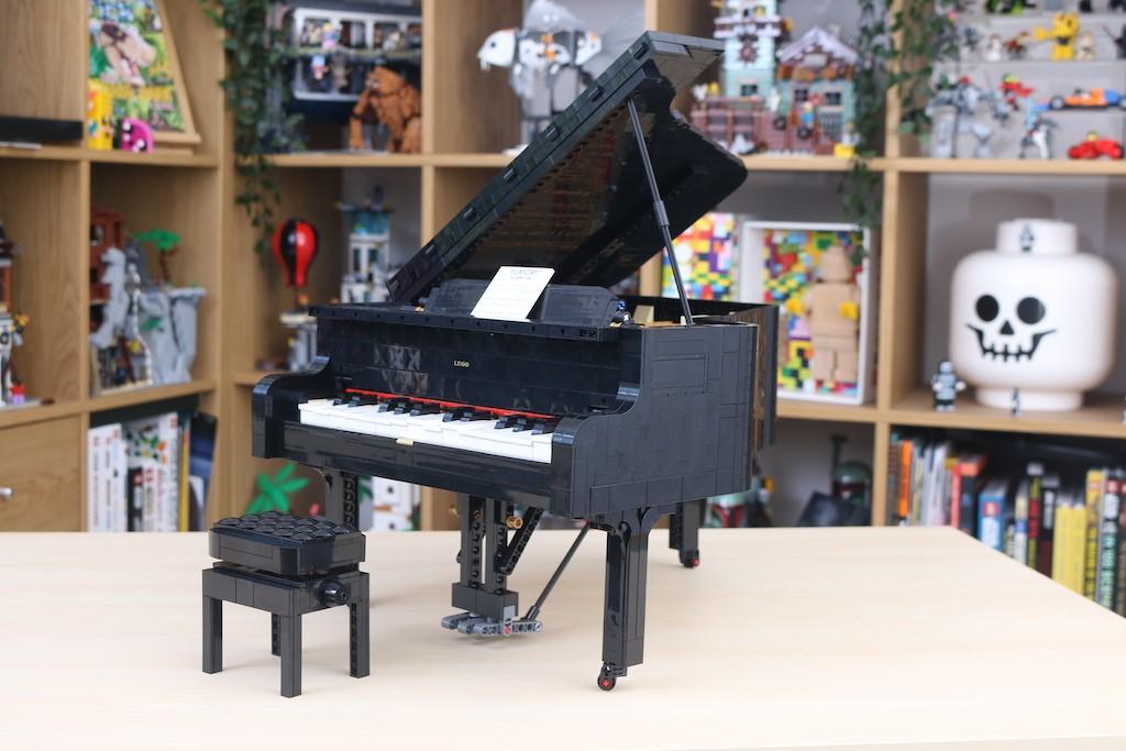 LEGO Ideas 21323 Grand Piano Review 31