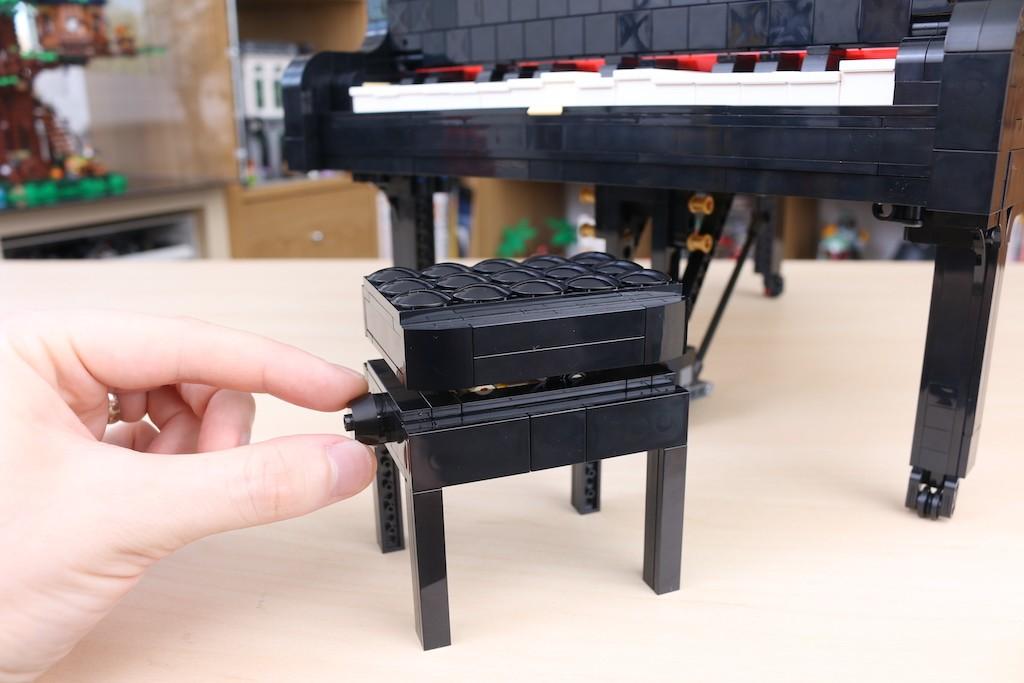 LEGO Ideas 21323 Grand Piano Review 39