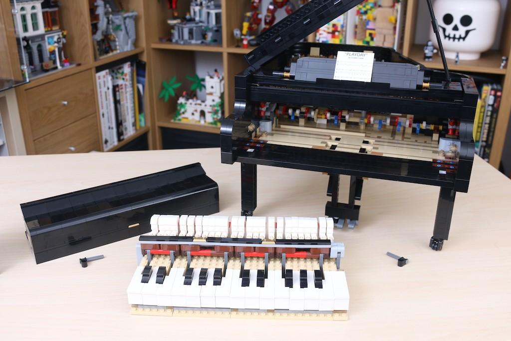 LEGO Ideas 21323 Grand Piano Review 43