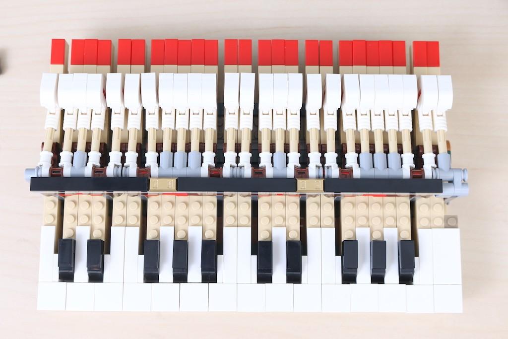 LEGO Ideas 21323 Grand Piano Review 49