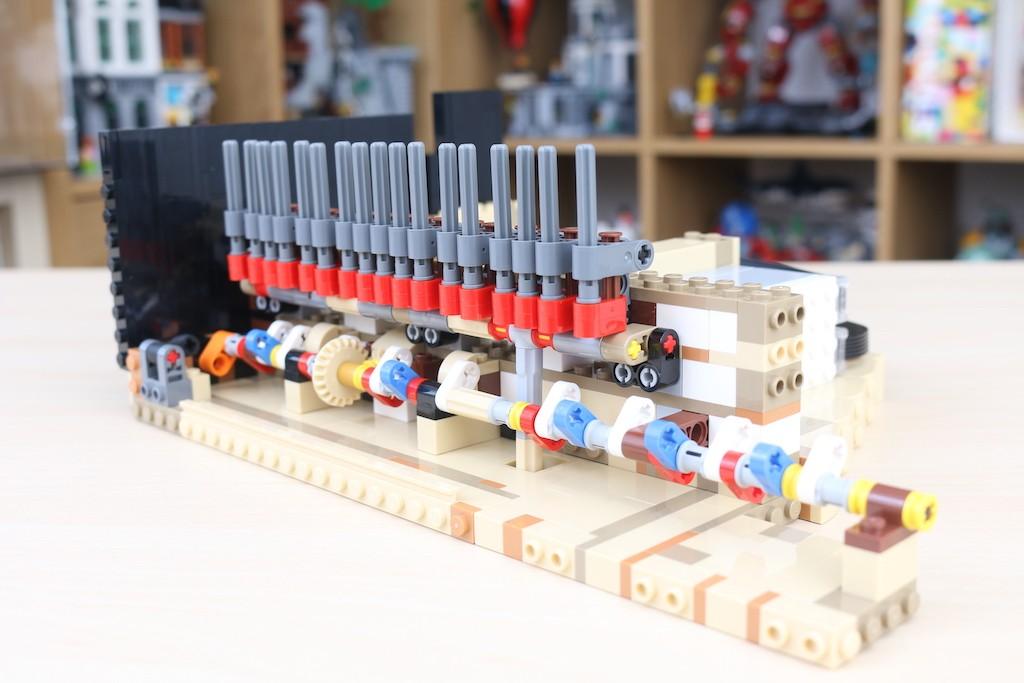 LEGO Ideas 21323 Grand Piano Review 6