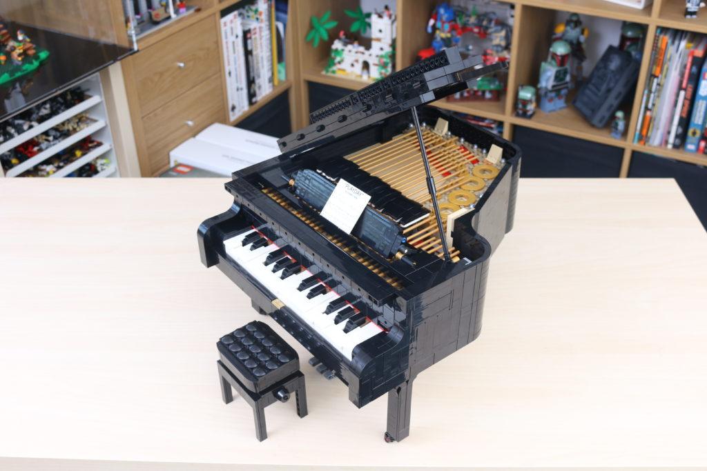 LEGO Ideas 21323 Grand Piano Review 69