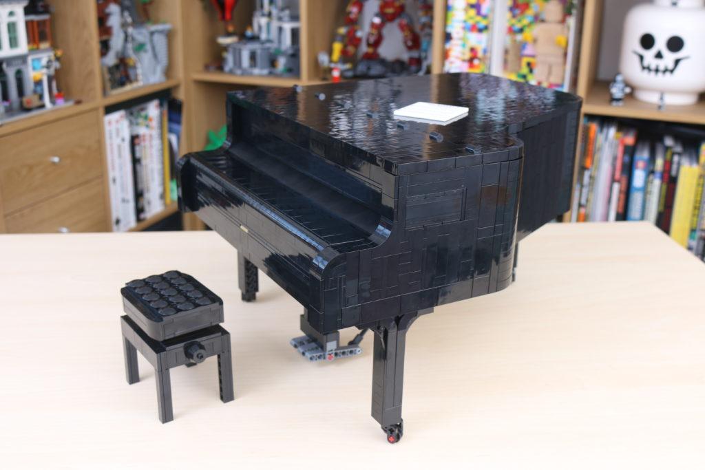 LEGO Ideas 21323 Grand Piano Review 71