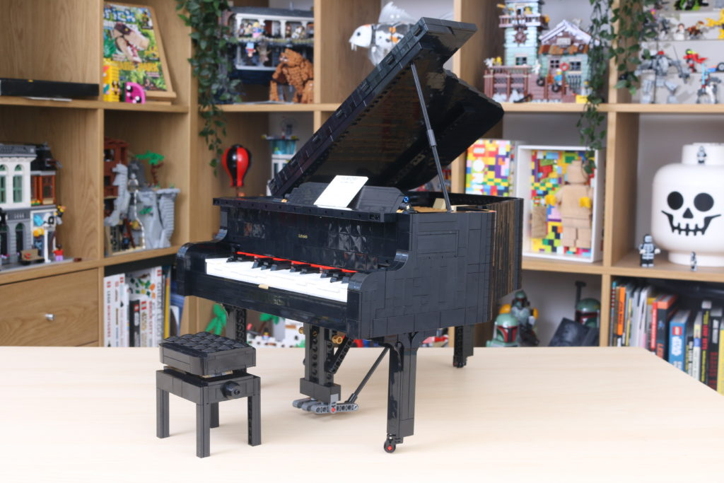 LEGO Ideas 21323 Grand Piano Review 74