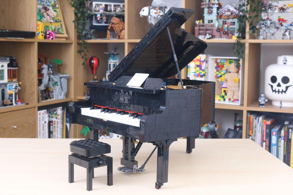 LEGO Ideas 21323 Grand Piano Review 75