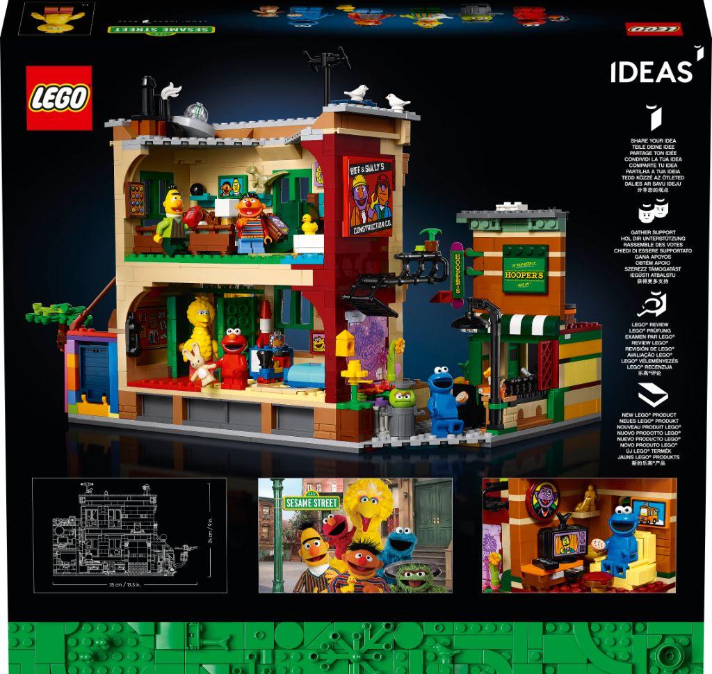 LEGO Ideas 21324 Sesame Street 1