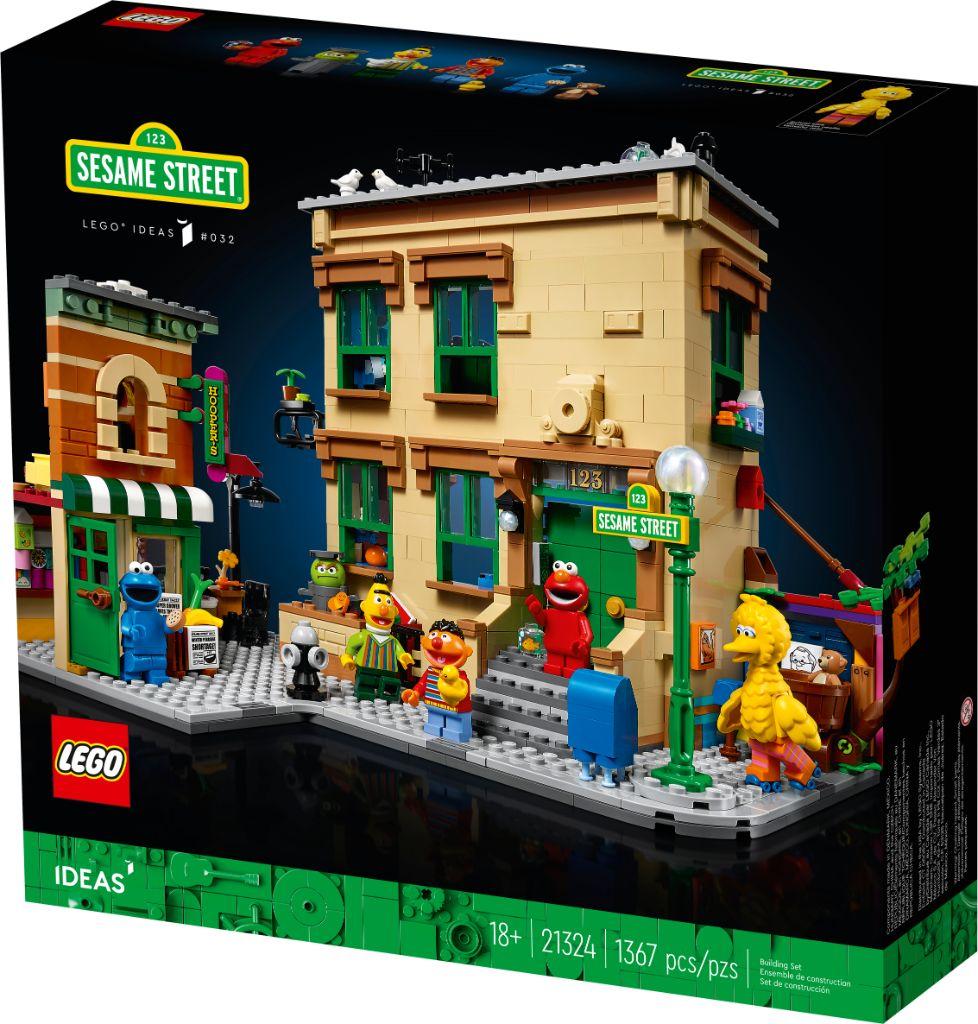 LEGO Ideas 21324 Sesame Street 2