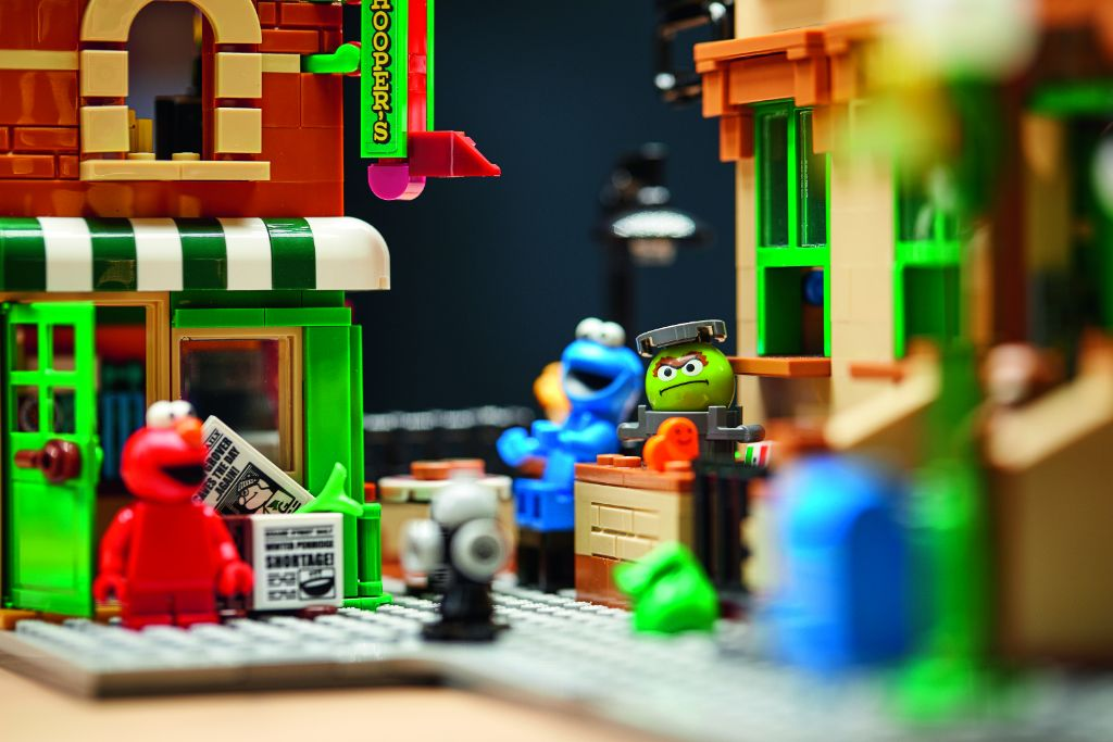LEGO Ideas 21324 Sesame Street 21