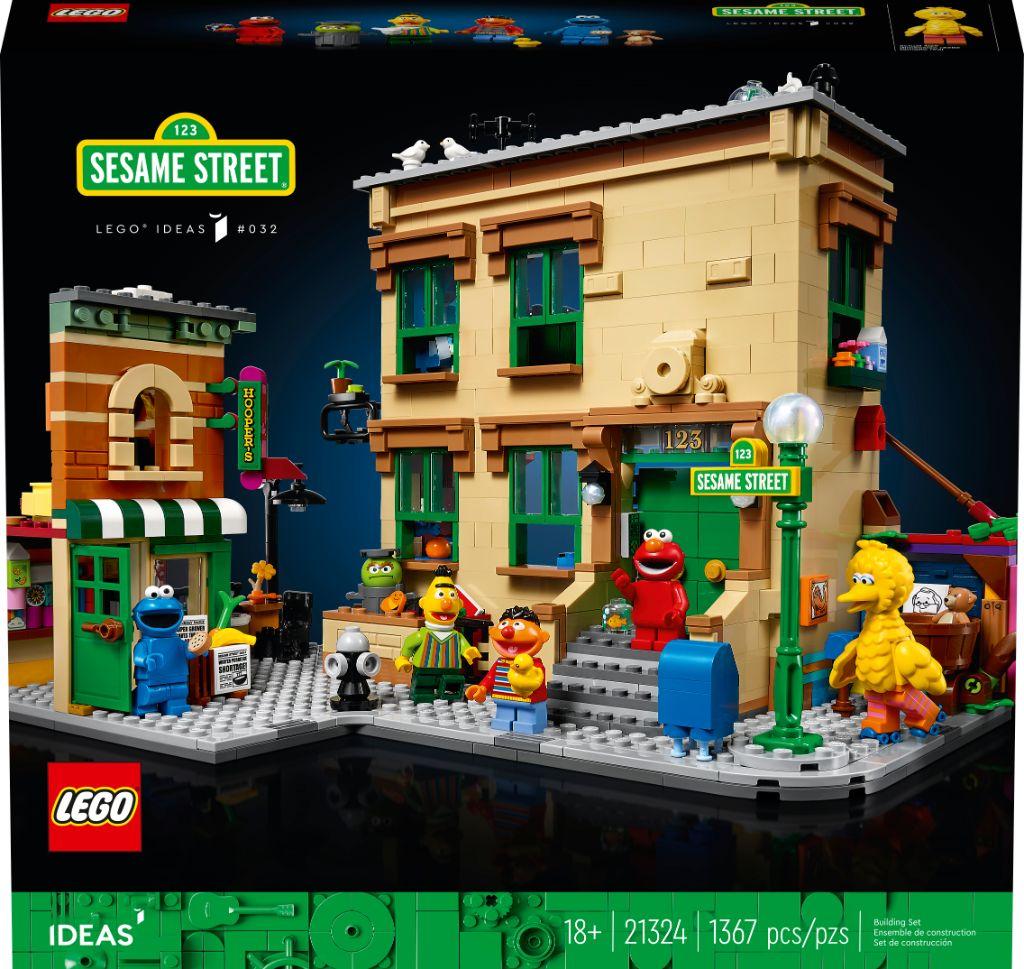 LEGO Ideas 21324 Sesame Street 5