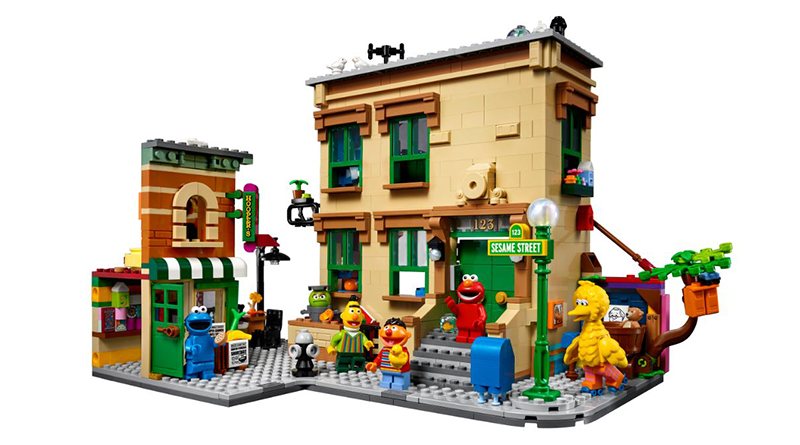 LEGO Ideas 21324 Sesame Street Featured