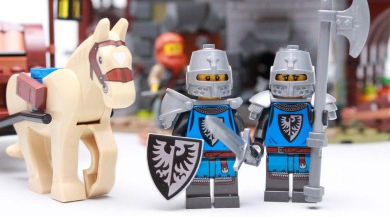 LEGO Ideas 21325 Medieval Blacksmith Black Falcons featured