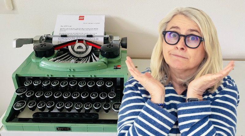 LEGO Ideas 21327 Typewriter Emma Kennedy featured2